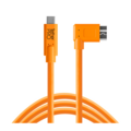 TetherTools USB-C / Micro-B cable 4,6m right angle